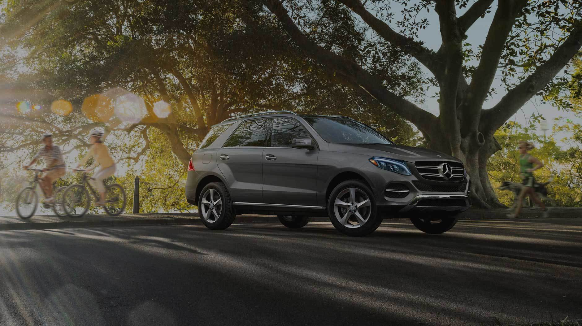 sport utility vehicle and mercedes